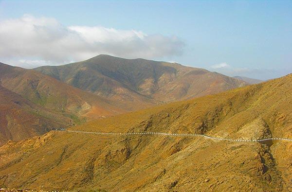 Fuerteventura Foto Landschaft Berge