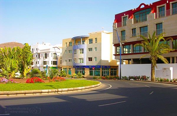 Fuerteventura Foto Orte Gran Tarajal