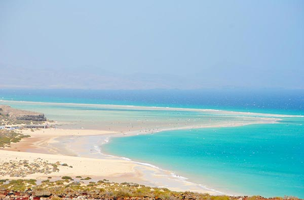 Fuerteventura Foto Strand Sotavento