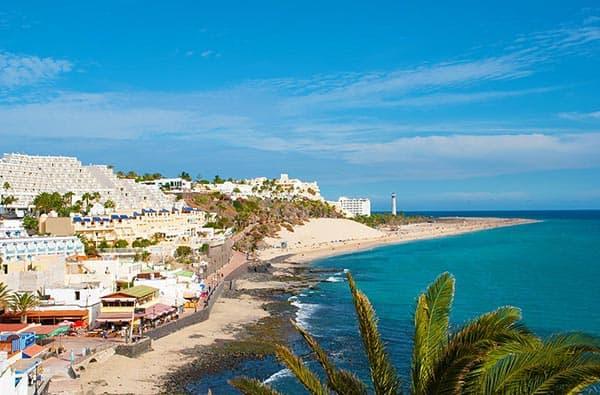 Fuerteventura Fotos Ortschaften Morro Jable Auf